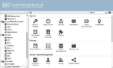 OpenMediaVault NAS上安装Kodi